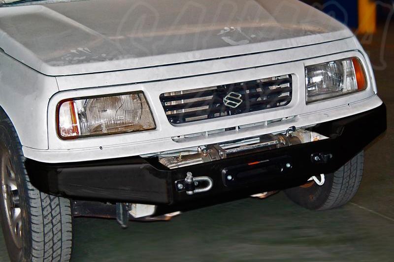 Parachoques frontal con base de cabestrante AFN para Suzuki Vitara 1996-2005 - Para motores 1.9TD y 2.0HDI