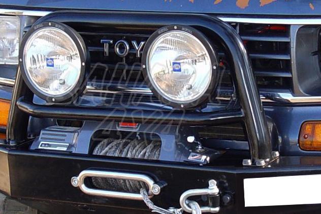 Arco central con soporte de faros para parachoques frontal AFN para Toyota LandCruiser J70 1983-1996 - NO HOMOLOGABLE