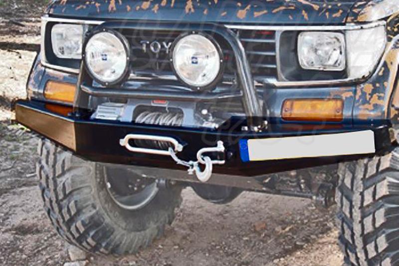 Parachoques frontal con base de cabestrante AFN para Toyota LandCruiser J70 1983-1996 -