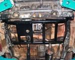 Protección de caja de cambios en acero negro 4mm AFN para Toyota J70 1983-1996 -