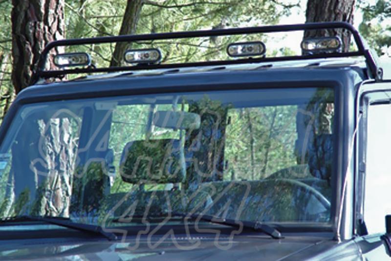 Soporte de techo para faros AFN para Toyota LandCruiser J70 1983-1996 -