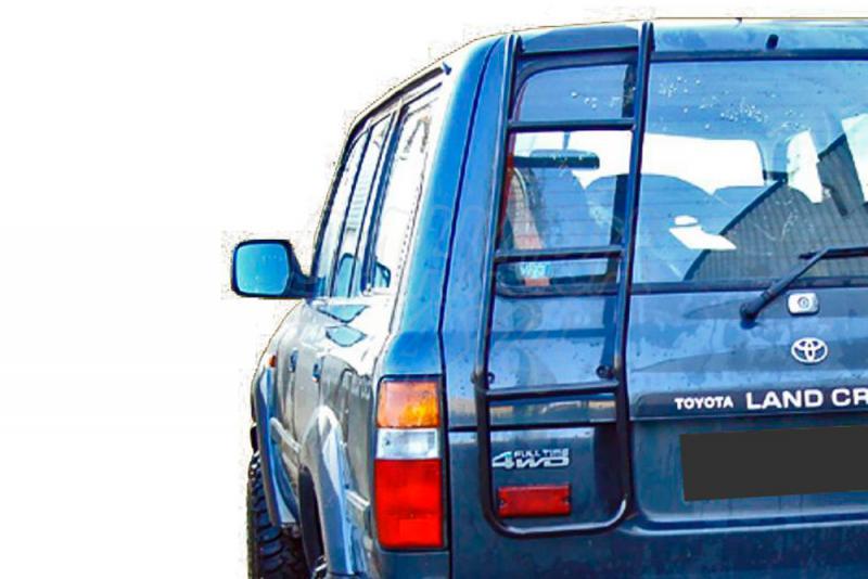 Escalera trasera de acceso al portaequipajes AFN para Toyota LandCruiser HDJ80 1992-1998 -