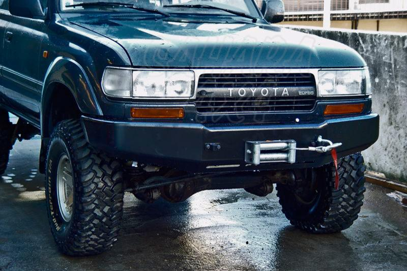 Parachoques frontal con base de cabestrante AFN para Toyota LandCruiser HDJ80 1992-1998 -