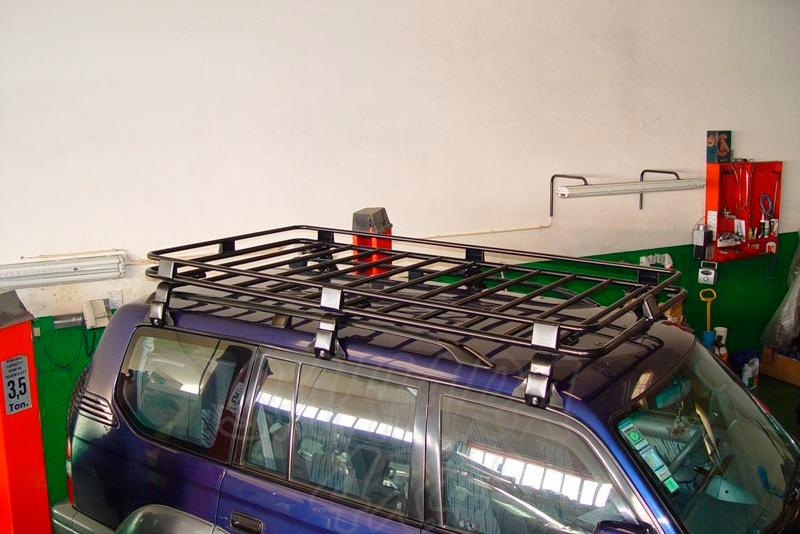 Baca de carga portaequipajes grande cerrada AFN para Toyota LandCruiser KZJ90/95
