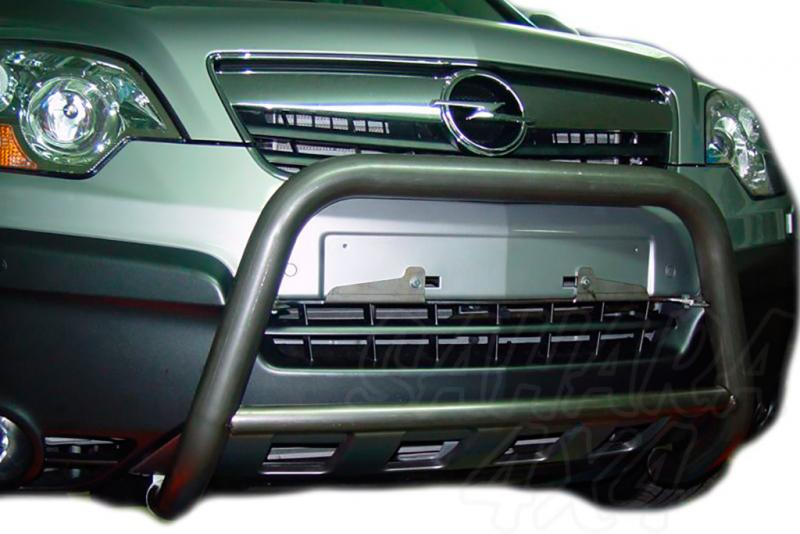 Defensa central inox Ø60mm con tubo. Homologación CE para Chevrolet Captiva 2006-2010 - (Imagen no contra actual)