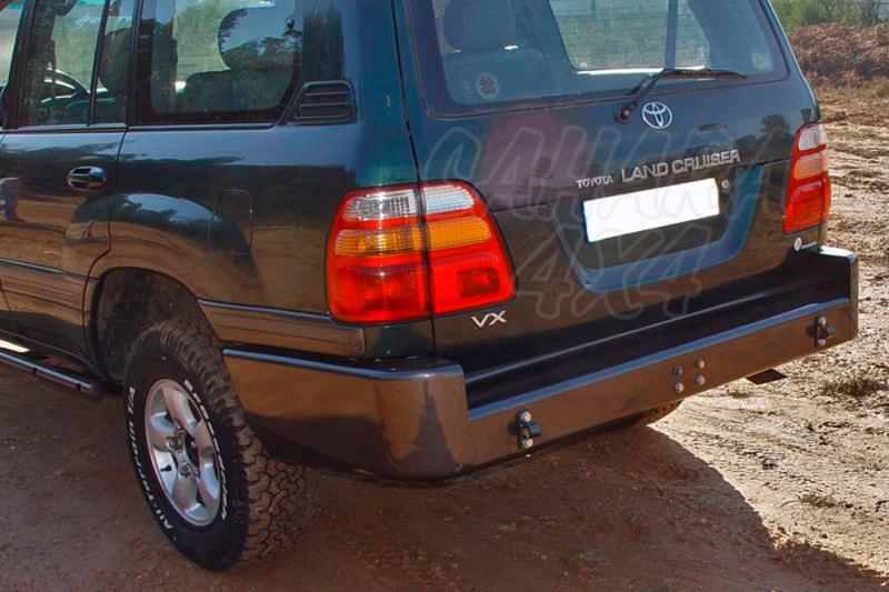 Parachoques trasero en acero AFN para Toyota LandCruiser HDJ100 -