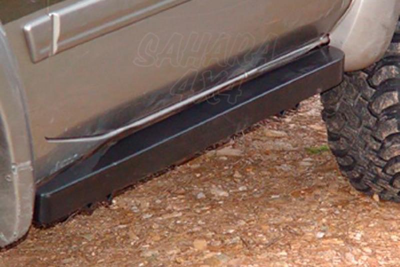 Taloneras/protecciones laterales para gato sin aluminio antideslizante AFN para Nissan Patrol GR Y61 -