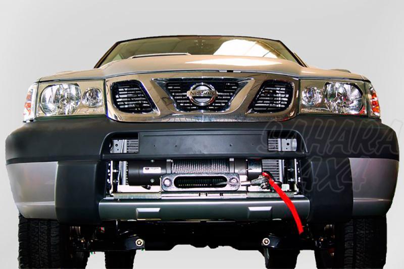 Base de cabestrante oculta para instalar en parachoques de origen AFN para Nissan Terrano II 02-06  -
