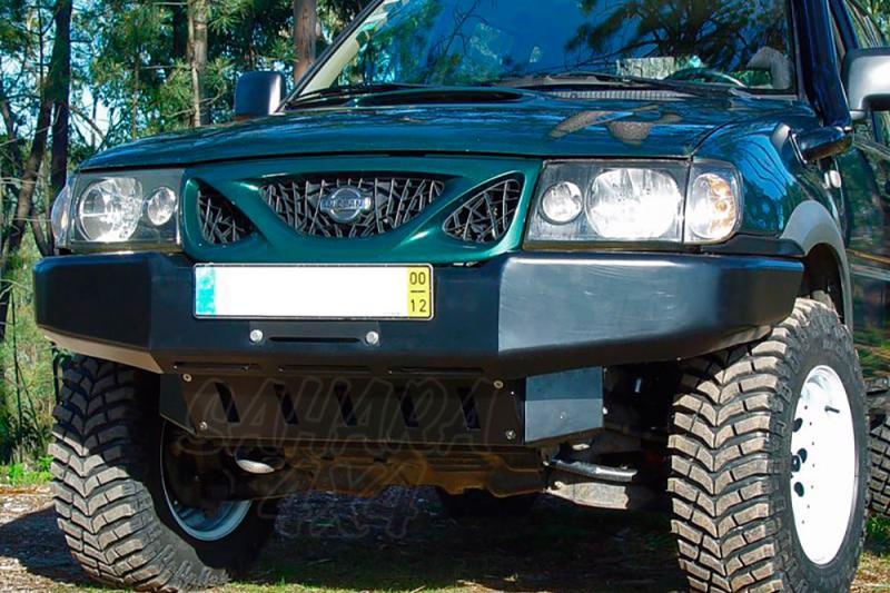 Parachoques frontal con base de cabestrante AFN para Nissan Terrano II 2000-2006  -