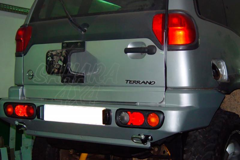 Parachoques trasero AFN para Nissan Terrano II 2000-2006 - Para 3 puertas