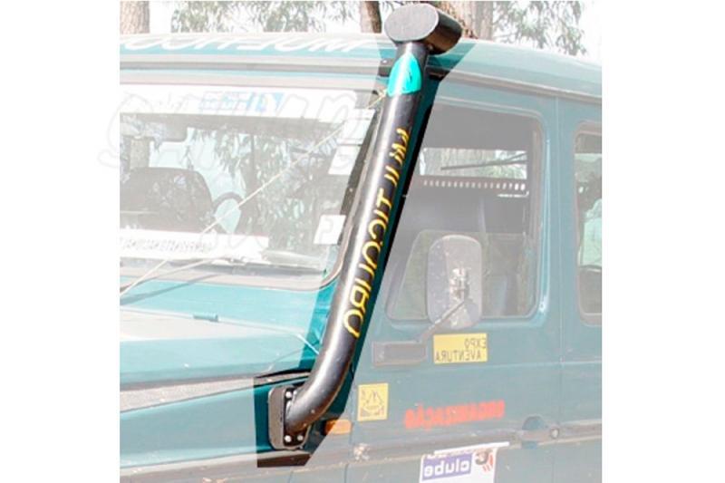 Toma de aire elevada (Snorkel) AFN para Mercerdes G  - Valido Mercedes G modelos diesel (Snorkel lado izquierdo).