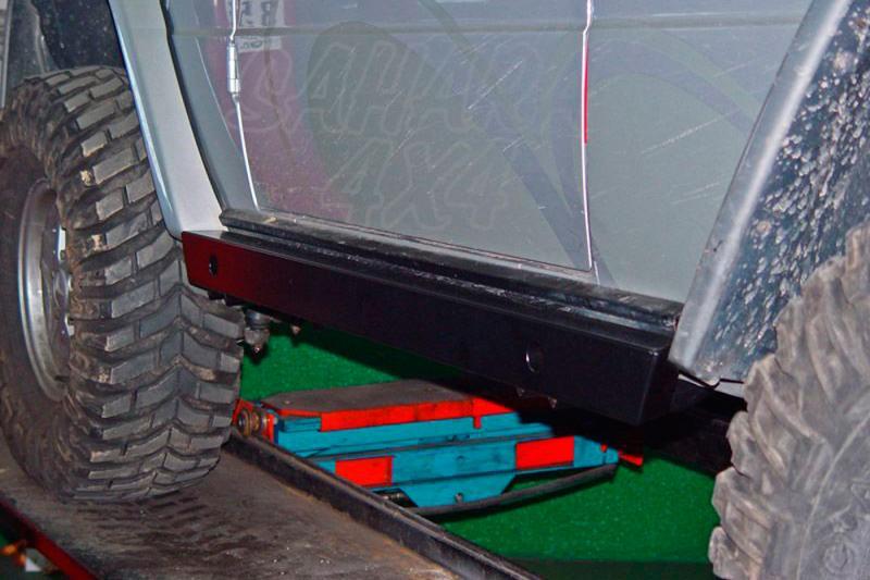 Taloneras/protecciones laterales AFN para Hi-lift para Mercedes Benz Clase G - Valido para 3P.