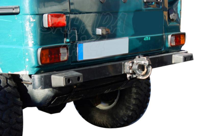 Parachoques trasero AFN para Mercede Benz Clase G - Fabricado en acero.