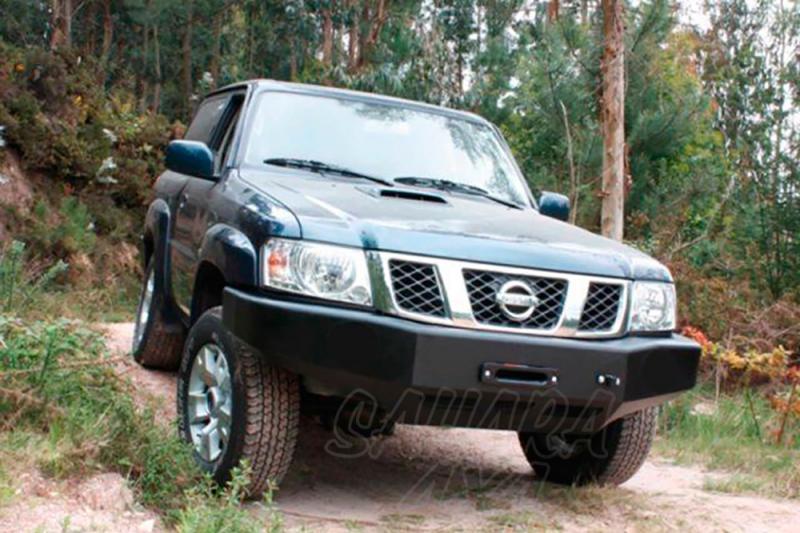 Parachoques frontal con base de cabestrante AFN para Nissan Patrol Y61 2005- -