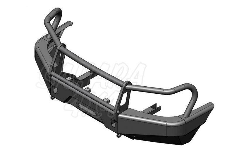Parachoques frontal AFN con base de cabestrante. Versión África para Mazda BT-50 2006-2009 -