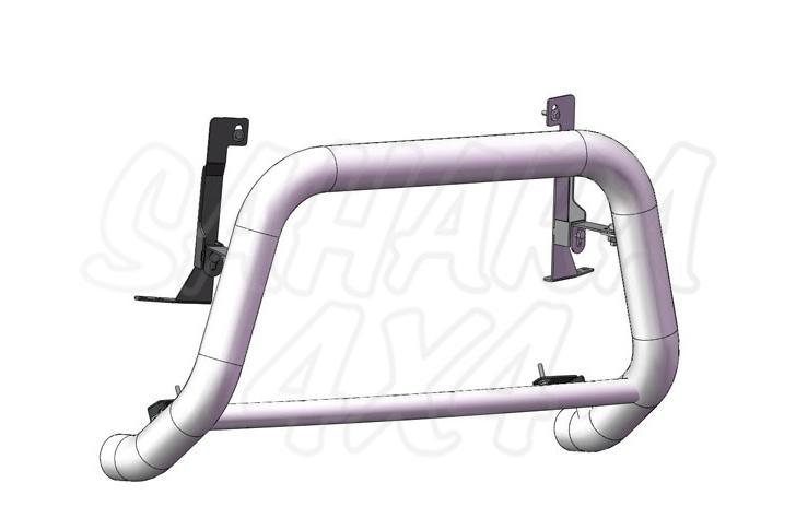 Defensa central inox Ø60mm con tubo. Homologación CE AFN para Suzuki Grand Vitara 2008- -