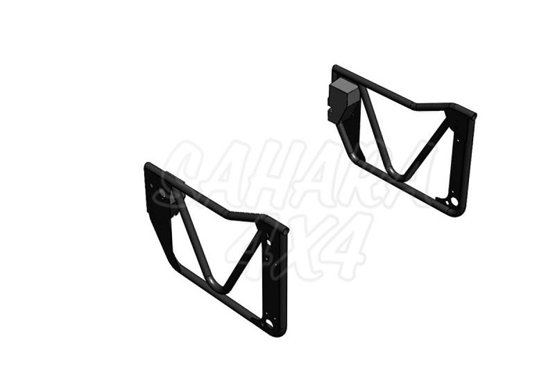 Puertas tubulares metálicas para Jeep Wrangler 2007- -