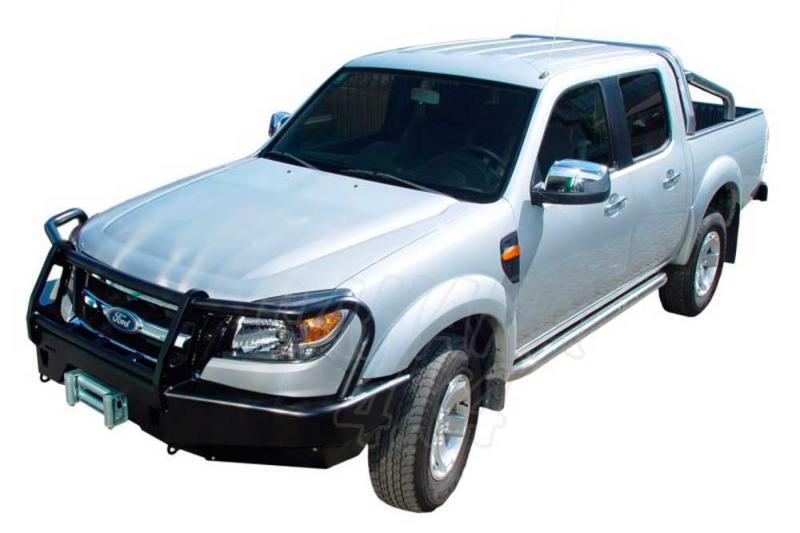 Parachoques frontal con base de cabestrante. Versión África para Ford Ranger 2009-
