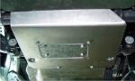 Protección de diferencial en duraluminio 6mm AFN para Toyota LandCruiser 150/155  -
