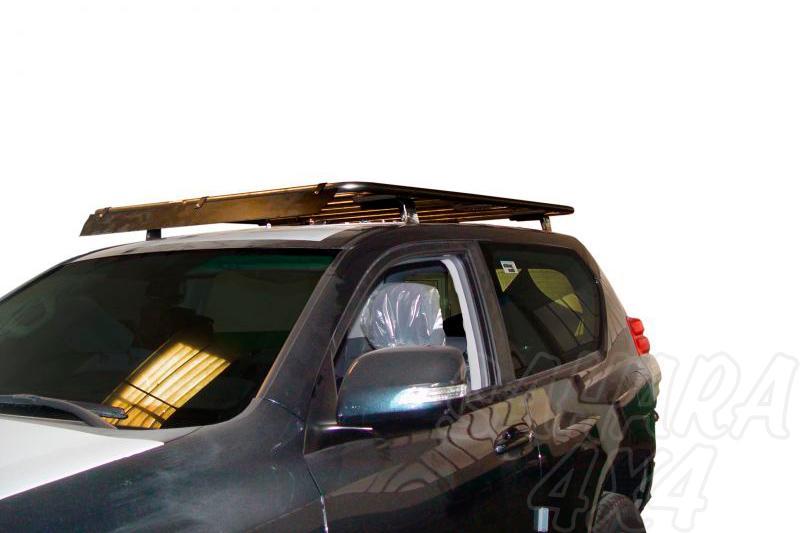 Baca de carga portaequipajes abierta AFN para Toyota LandCruiser 150 - 3 puertas. 4 soportes.