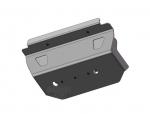 Protección de barras de dirección en acero zincado 4mm AFN para Toyota LandCruiser 150/155  -
