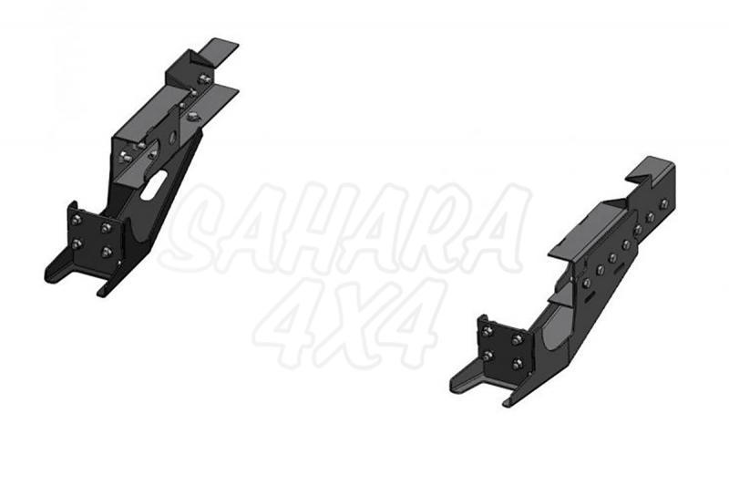 Soportes para parachoques trasero AFN para Mitsubishi L-200 Triton 2010-2015 - Paragolpes (189.48001624)