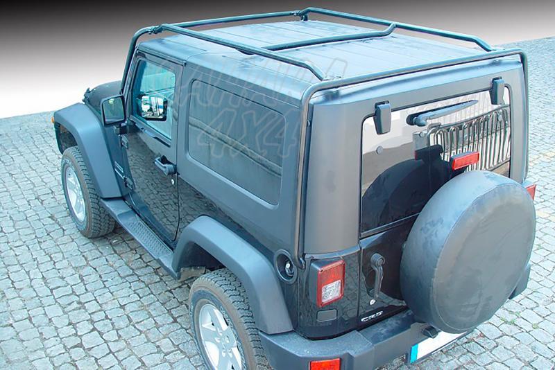 Baca de carga portaequipajes AFN para Jeep Wrangler 2007- (3 puertas)