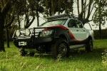Parachoques frontal con base de cabestrante. Versión África para Ford Ranger 2012- - Nota: Este accesorio no es homologable en España