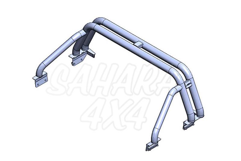 Rollbar (barras antivuelco) en tubo inox para Ford Ranger 2012- -