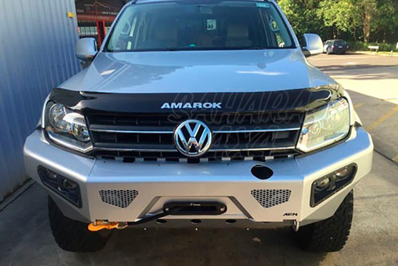 Parachoques frontal con base de cabestrante y faros de niebla integrados AFN - Para Volkswagen Amarok 2010-