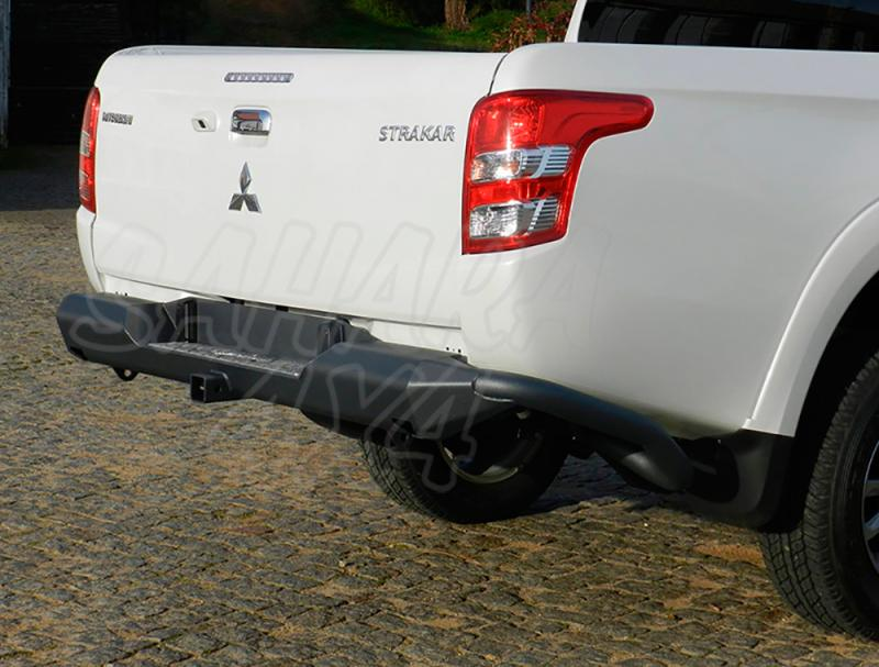 Parachoques trasero con peldaño AFN para Mitsubishi L-200 Triton 2015-/Fiat Fullback 2016- -