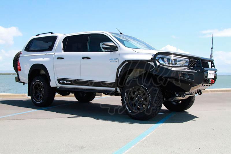 Estribos/taloneras laterales reforzadas para Toyota Hilux Revo 2016- -