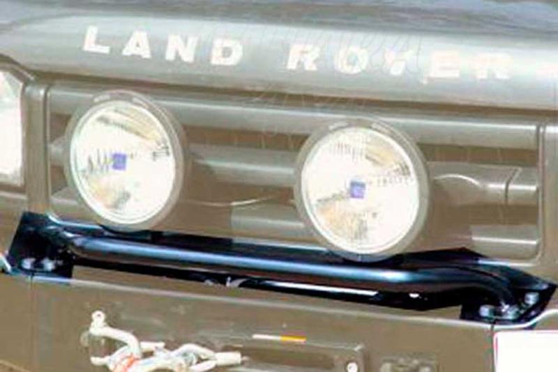 Soporte de faros AFN para parachoques con base de cabestrante para Jeep/Land Rover -