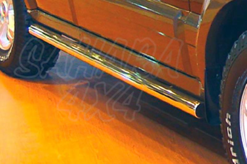 Estribos AFN en tubo inox para Kia Sorento 2002-2009 -