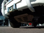 Conjunto de protecciones AFN para Toyota Hilux Vigo 2005-2016 - Cárter, barras de dirección y diferencial en aluminio 6mm