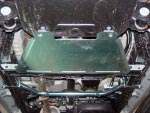 Protección de caja de cambios en duraluminio 6mm AFN para Toyota Hilux Vigo 2005-2010 -