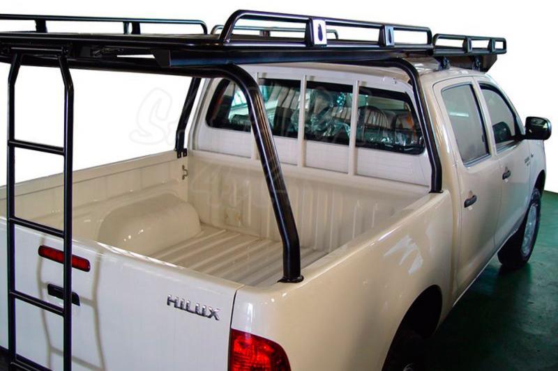 Baca de techo Completa cabina y caja AFN en acero - Valida para Hilux Vigo desde 05