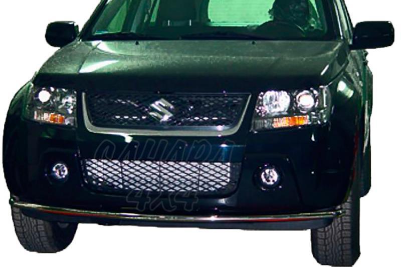 Protector inferior de parachoques delantero en tubo inox Ø38 AFN para Suzuki Grand Vitara 2005-2008 -