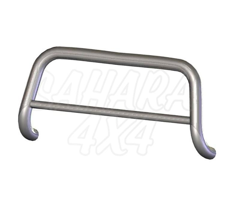Defensa central inox Ø60mm con tubo. Homologación CE para Suzuki Grand Vitara 2005-2008 -