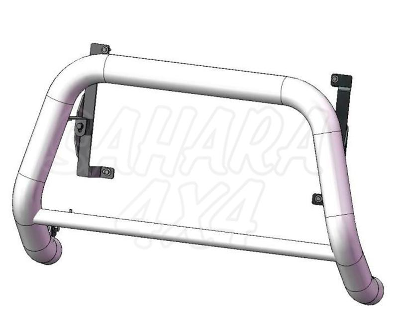 Defensa central inox Ø70mm con tubo. Homologación CE para Suzuki Grand Vitara 2005-2008 -