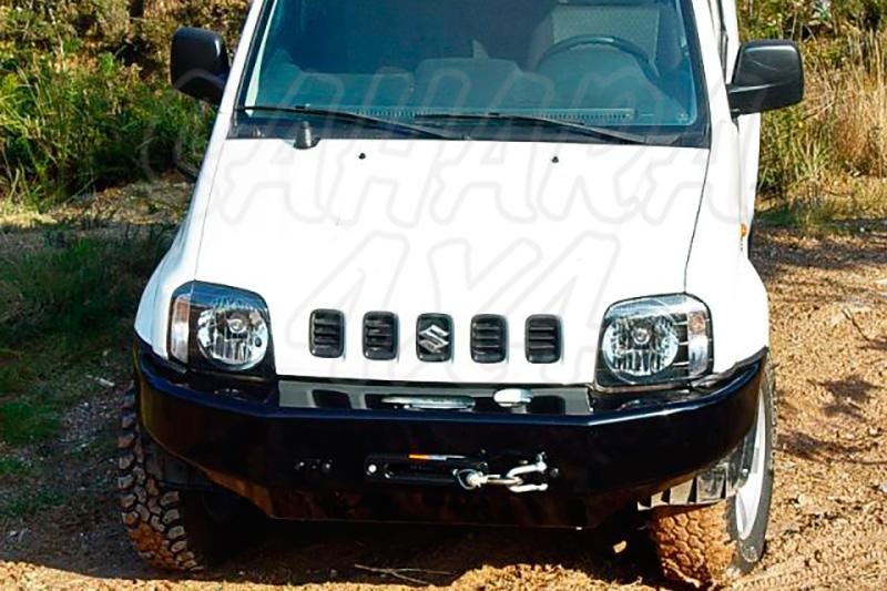 Parachoques frontal con base de cabestrante AFN para Suzuki Jimny 2003- - Sólo modelos diésel; No valido con triple radiador