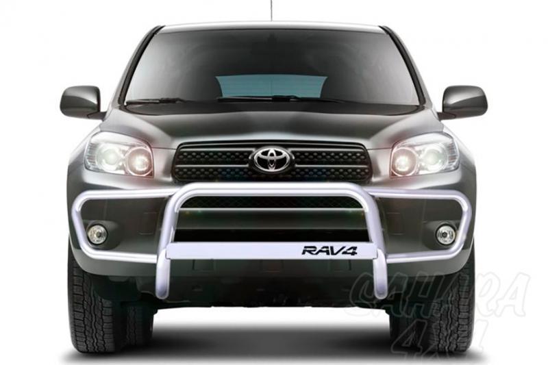 Defensa integral inox con traviesa. Homologación CE AFN para Toyota Rav4 2006-2009 -