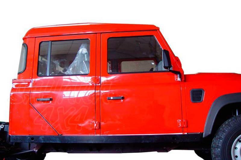 Taloneras/protecciones laterales AFN para gato Defender - Para Land Rover Defender 130 sólo 2008-