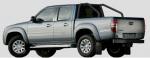 Rollbar (barras antivuelco) en tubo negro (doble cabina) para Ford Ranger/Mazda BT50 06-12  -