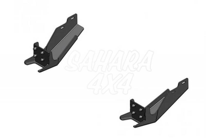 Soportes para parachoques trasero para Ford Ranger/Mazda BT50 06-12  - Soportes para parachoques trasero: 189.48001624