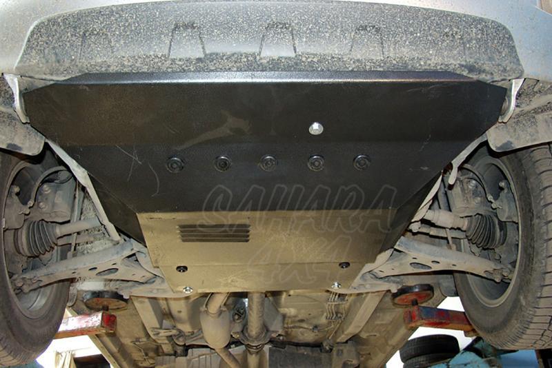 Protección de cárter y caja de cambios en acero 2mm para Toyota Rav4 2000-2005