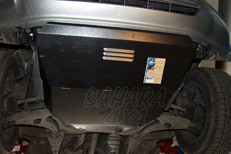 Protección de cárter y caja de cambios en acero 2mm para Toyota Rav4 1994-2000