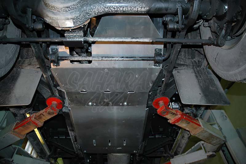 Protectores de bajos Sheriff para Land Rover Defender 90 TD5/TD4 - Pulse para ver todos los protectores que disponemos para su modelo.
