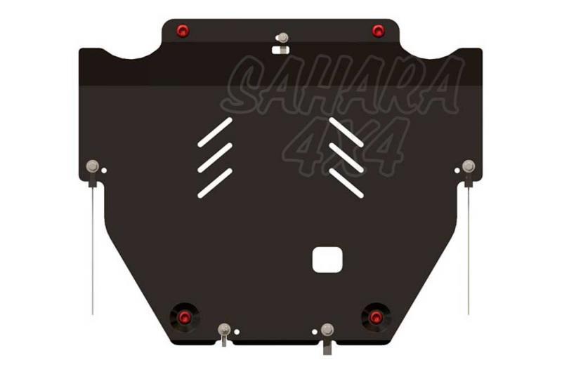 Protección de cárter y caja de cambios en acero 2,5mm para Volvo XC70 2007-