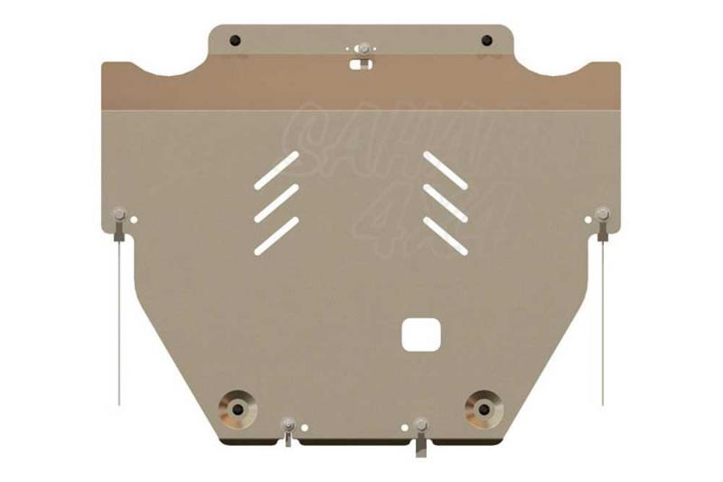 Protección de cárter y caja de cambios en aluminio 5mm para Volvo XC70 2007-